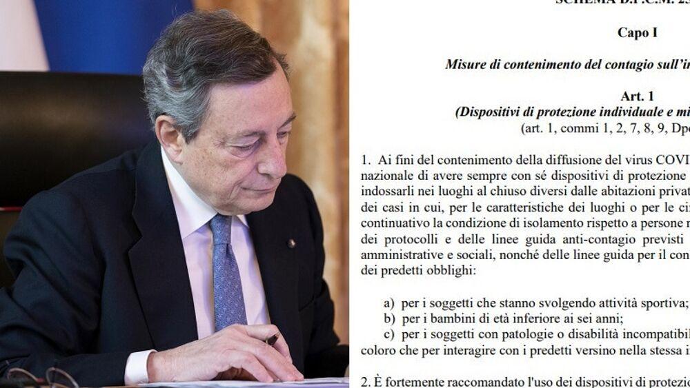 Nuovo Dpcm Draghi 2 marzo: la stretta sulla scuola e il lockdown da evitare