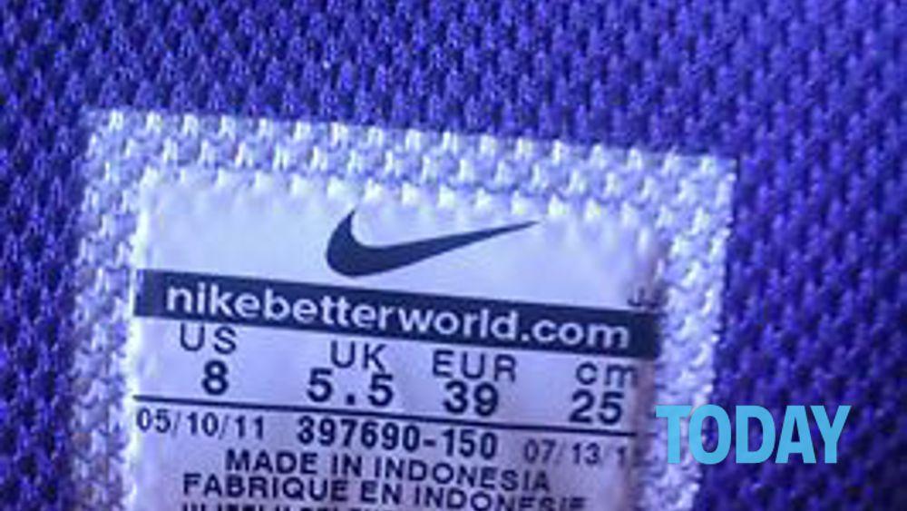 Come riconoscere i falsi Nike