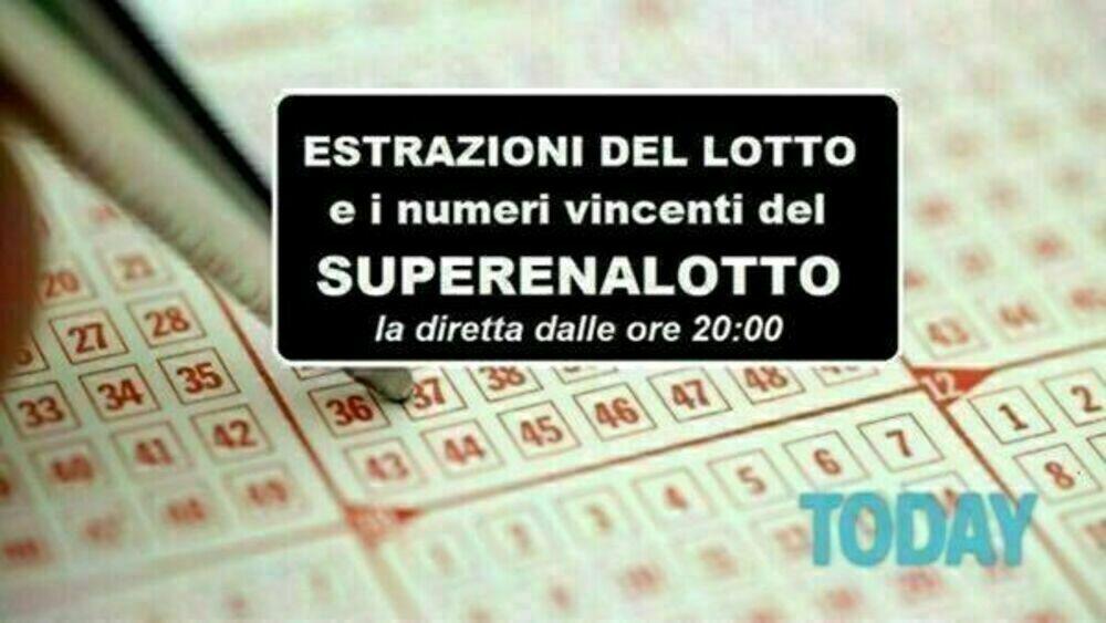 Estrazioni Lotto oggi e numeri SuperEnalotto di sabato 10 aprile 2021