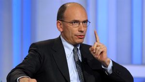 Incidente per Enrico Letta a Roma