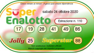 superenalotto oggi-19