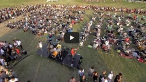 "Foo Fighters a Cesena dopo il video ""Rockin 1000"""