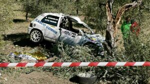 Incidente al Rally Valle del Sosio: morto il copilota Totò Coniglio