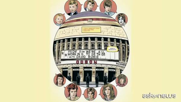 David Bowie, la biografia a fumetti del Duca Bianco