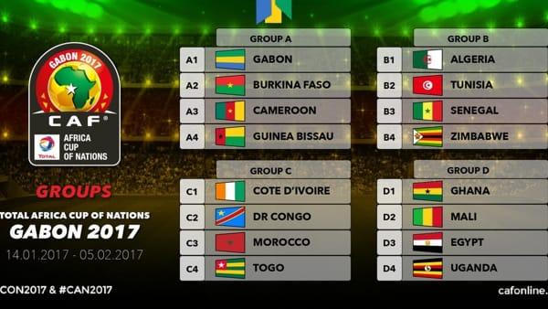 Calendario Coppa Dafrica.Coppa D Africa 2017 Calendario Orari Italiani