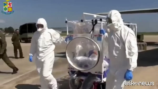 Coronavirus, aerei italiani C-27J impegnati contro la pandemia