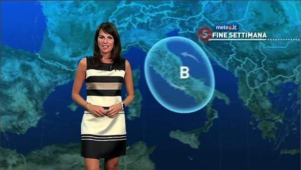Caldo e temporali: le previsioni meteo per l'ultimo weekend di Agosto