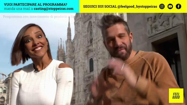 """Feel Good"" con Edoardo Stoppa e Juliana Moreira: la quinta puntata"