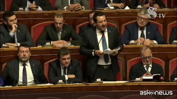 Caso Gregoretti, il Senato autorizza il processo a Matteo Salvini