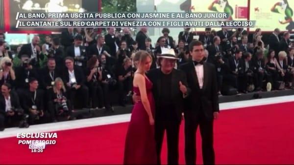 VIDEO | Jasmine e Al Bano Junior, primo red carpet con papà