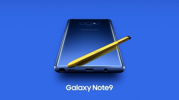 Samsung Galaxy Note 9: svelate le specifiche tecniche