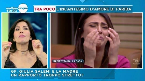 """Mattino 5, lo sfogo della madre di Giulia Salemi: """"Ultima volta che parlo di mia figlia"""""""