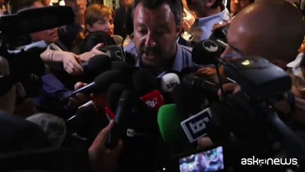 """Salvini: """"Non c è altra maggioranza. Si voti il prima possibile"""""""