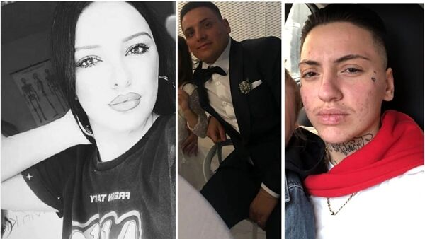 Transfobia de Antonio Michele (ao centro) matou Anna Paola Gaglione (à esquerda) e feriu seu noivo trans Ciro Migliore (à direita). (Foto: Reprodução / Instagram)