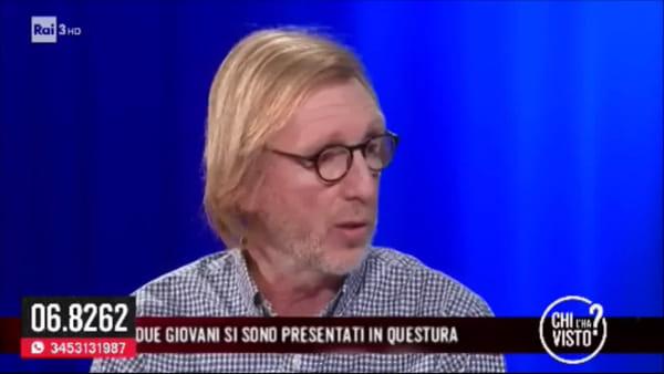 """Franco Bortuzzo a """"Chi l'ha visto?"""": la lezione di vita del papà di Manuel"""