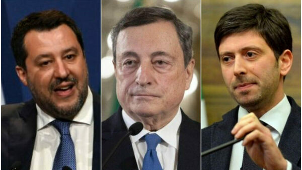 Draghi e la caccia a Roberto Speranza: le voci sulle dimissioni e la guerra della Lega al ministro della Salute