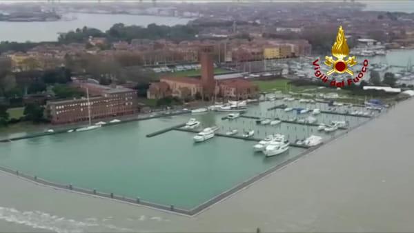 Scenario apocalittico su Venezia e tutto il litorale: preoccupano le previsioni meteo