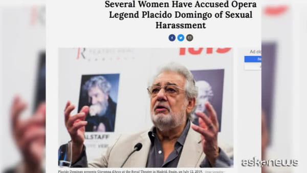 Placido Domingo accusato di molestie sessuali.Il tenore: inesatto
