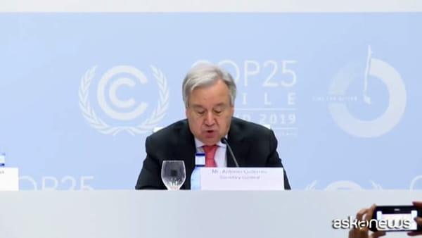 Clima, al via a Madrid la COP25: presenti 196 Paesi