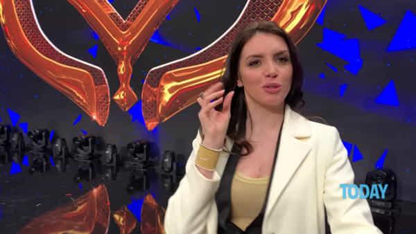"""'Il Cantante Mascherato', Ilenia Pastorelli in giuria: """"Mi sento un po' unicorna"""""""