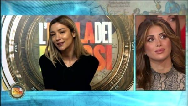 VIDEO   Isola, Soleil punta Bettarini: la reazione di Nicoletta in studio