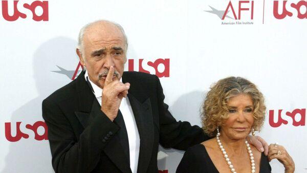 Chi è Micheline Roquebrune, moglie di Sean Connery, che gli è stata vicino  fino all'ultimo
