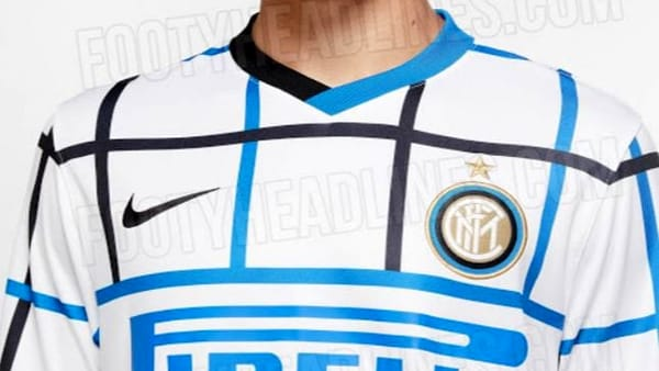Inter, seconda maglia Nike 2020-2021: è a quadretti   Foto