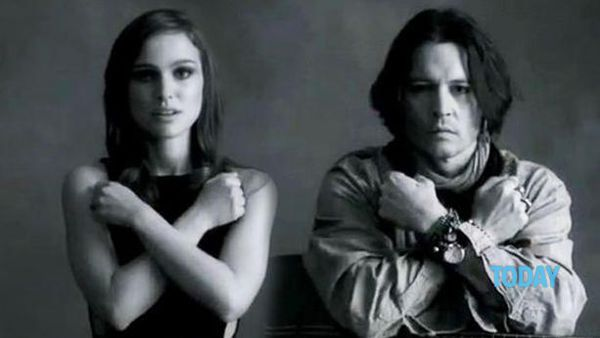 "Johnny Depp e Natalie Portman nel video di ""My Valentine"" di Paul McCartney"