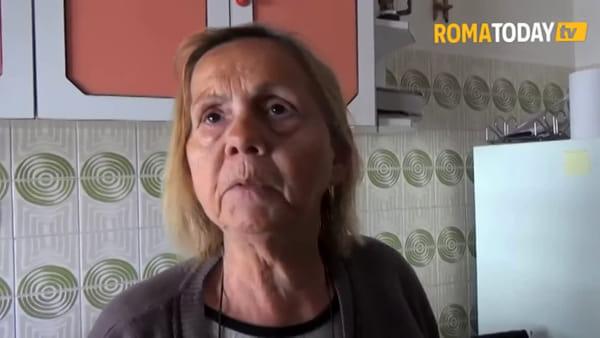 Roma: Casal Bruciato sta con Maria Pia, anziana sotto sfratto da un alloggio popolare