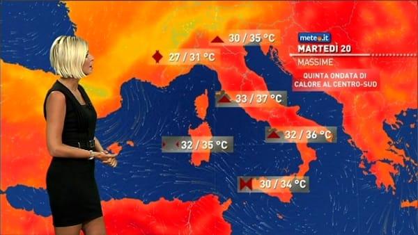 Ondata di caldo africano ma anche temporali: le previsioni meteo