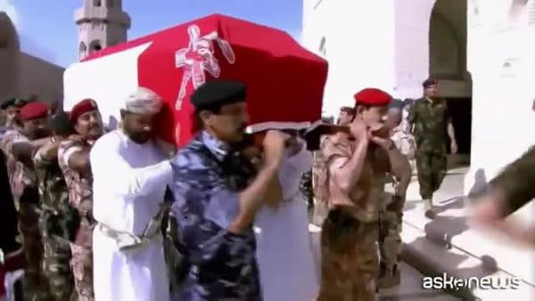 Ecco i sontuosi funerali del sultano dell'Oman Qabus