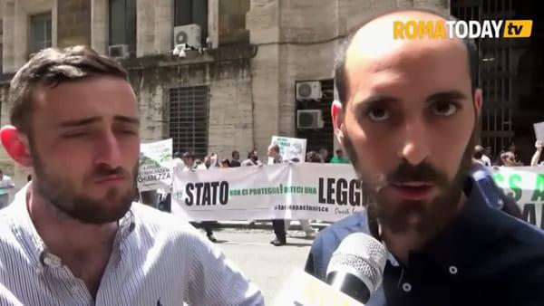 """Il settore della canapa protesta al Mise: """"Lavoriamo nella legalità, chiediamo certezza normativa"""""""
