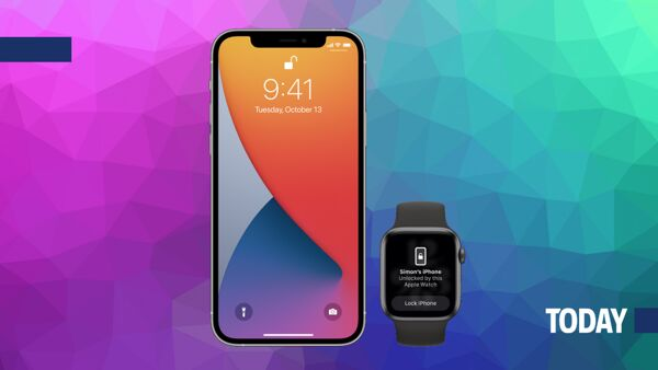 iOS 14.5 e lo sblocco di iPhone con Apple Watch