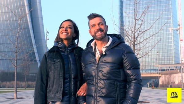 """Feel Good"" con Edoardo Stoppa e Juliana Moreira: la seconda puntata"