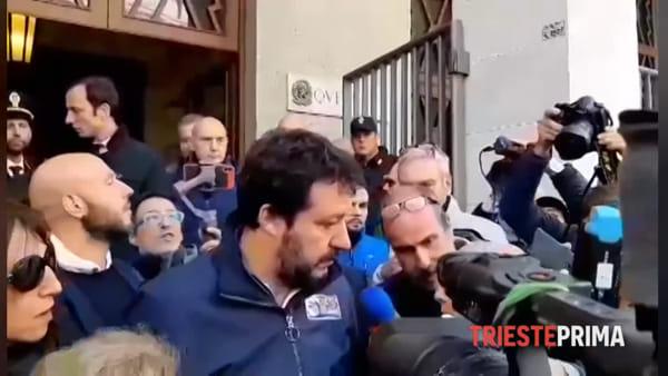 """Poliziotti uccisi, Salvini: """"Ora manette a tutti i sospettati"""""""