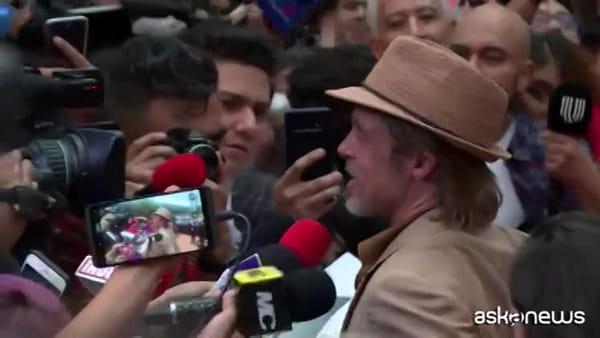 Messico, Brad Pitt alla prima di C'era una volta a Hollywood