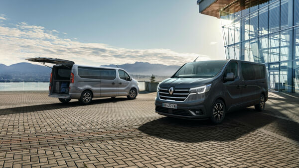 2021 - New Renault Trafic Spaceclass on location-2