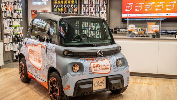 Citroën Ami 100% Electric: elettrica, accessibile e ancora più connessa