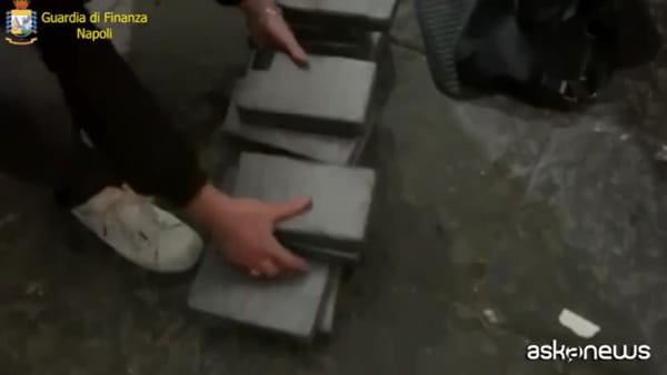 Droga, Gdf Napoli sequestra 33 chilogrammi cocaina. Un arresto