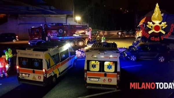 Incidente Autostrada notte 2