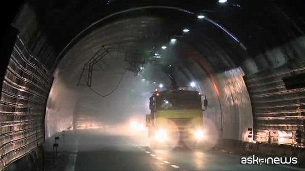 Sicurezza in gallerie autostradali, grande piano di monitoraggio