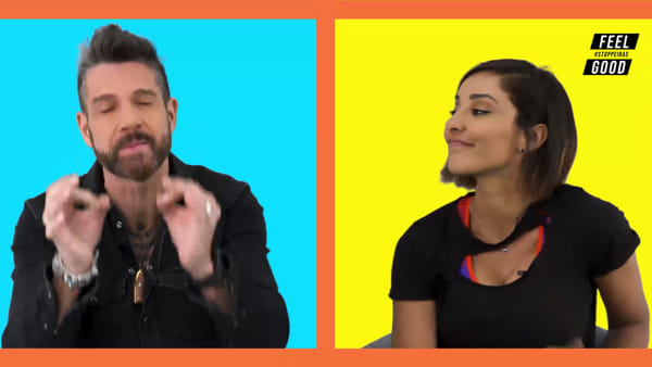 """Feel Good"", l'intervista doppia a Edoardo Stoppa e Juliana Moreira"