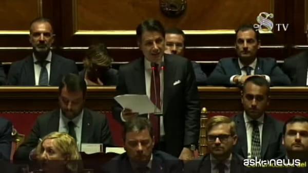 Conte: Salvini ha perseguito interessi personali e di partito
