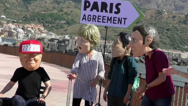 G7, leader indecisi sull'accordo di Parigi: il flash mob a Giardini Naxos
