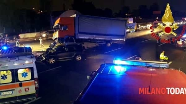 Incidente Autostrada notte 3