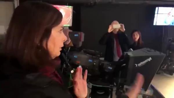 """Boldrini """"bastona"""" Salvini: il video del fuorionda"""