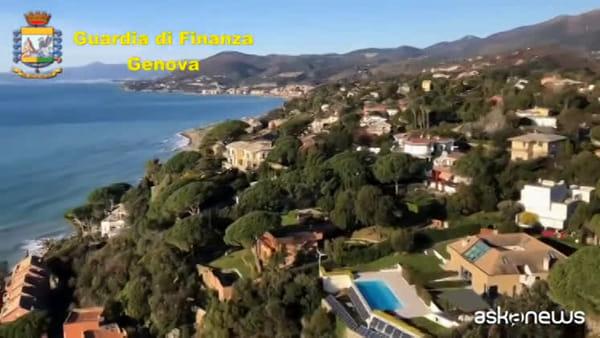 Genova, evasore totale affittava villa extralusso: sequestrata