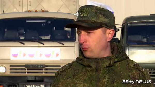 Coronavirus, medici militari russi: a Bergamo con i respiratori