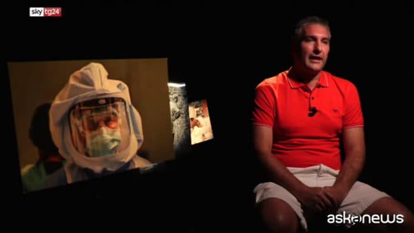 """Coronavirus, a SkyTg24 parla Mattia Maestri """"Paziente 1"""" italiano"""