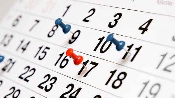 Calendario Da Settembre 2019 A Giugno 2020.Calendario Scuola Inizio Scuola 2019 Date Vacanze E